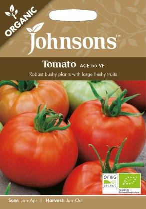 Tomato Ace (Organic). Picture; Johnsons