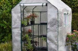 Premium 12-Shelf Greenhouse. Picture; Waltons