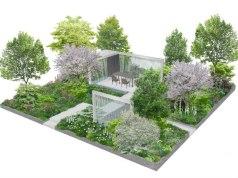 Hillier show garden RHS Chelsea 2019. Picture; Lilly Gomm/RHS