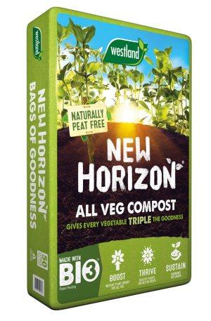 New Horizon All Veg Compost. Picture; Westland