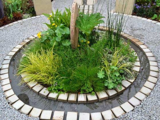 Perennial Legacy Garden detail by David Lewis