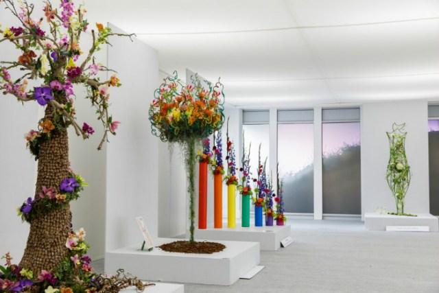 Floral Design Studio. Picture; RHS/Sarah Cuttle