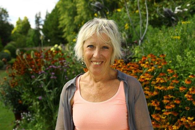 Great British Gardens Season by Season with Carol Klein at Ashwood. Picture; Knickerbockerglory