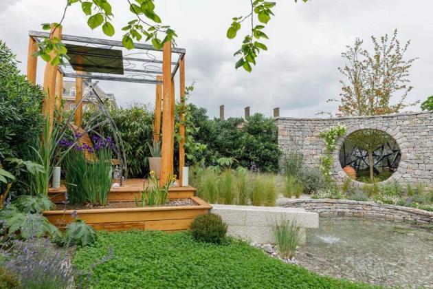 The Harmonious Garden of Life by Laurelie de la Salle. Picture; RHS/Sarah Cuttle