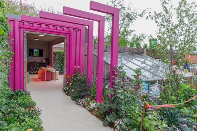 The Montessori Centenary Children's Garden by Jody Lidgard. Picture; RHS/Sarah Cuttle