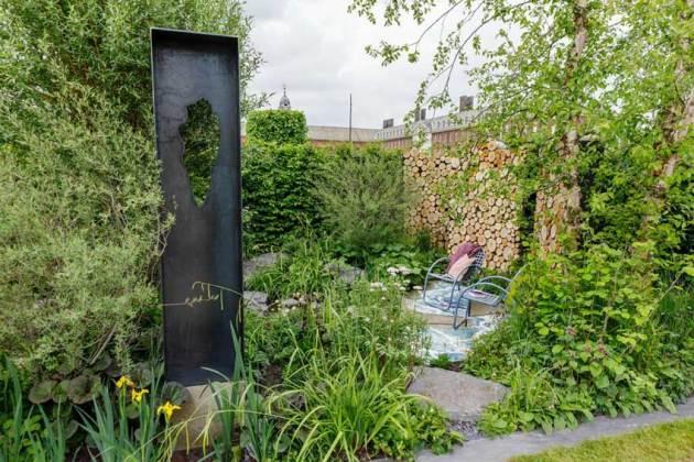 Viking Cruises: The Art of Viking Garden. Picture; RHS/Sarah Cuttle