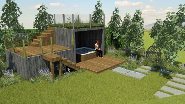 Andy Tudbury's Halcyon Days Show Garden