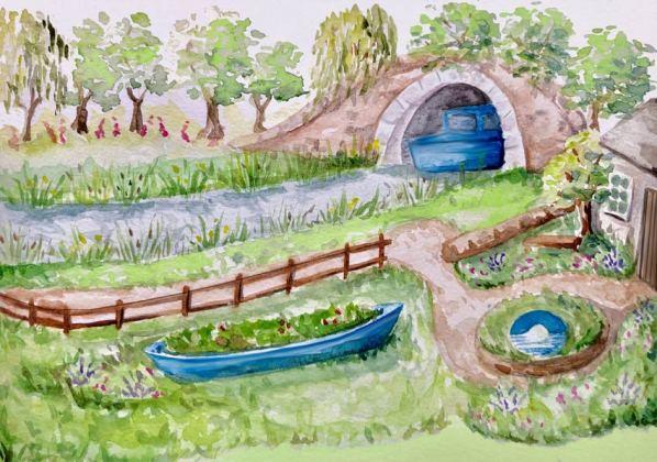 Canal and River Trust Garden Show Garden