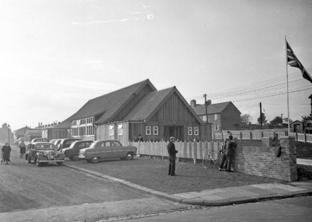 Leasingthorne Colliery Welfare Hall and Community Centre, 1957