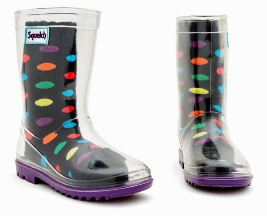 Spotty socks. Picture; Squelch