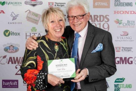 Carol Klein and Roy Lancaster. Picture; Jayne Lloyd