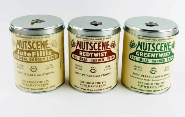 Nutscene Iconic Tin Jute Twine Collection. Picture; Sir Gordon Bennett