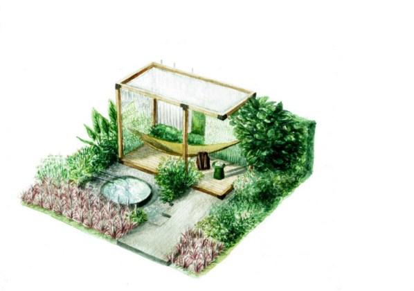 The Calm of Bangkok Garden by Tawatchai Sakdikul and Ploytabtim Suksang