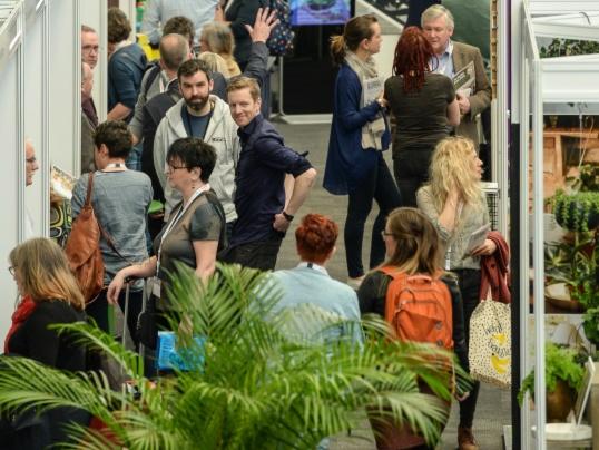 The garden Press Event 2019. (Play spot the Mandy)