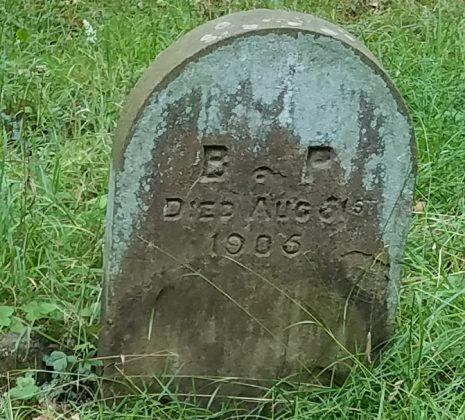BP gravestone