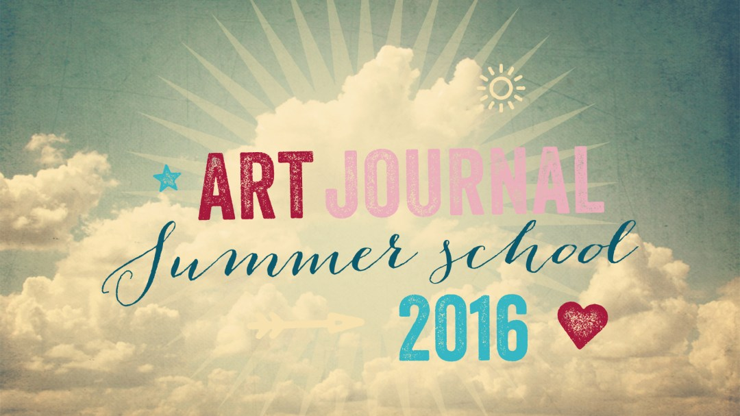 mandy van goeije is a guest teacher at art journal summer school 2016