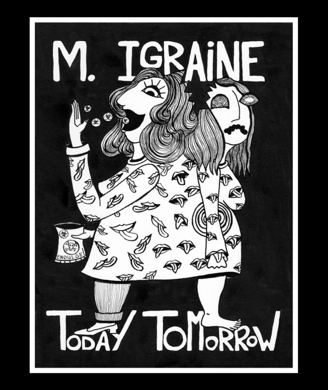 migraine illustration by Mandy van Goeije