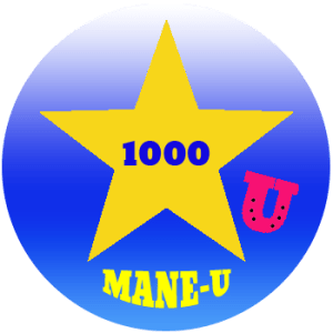 mane-u badge gold star