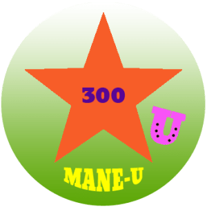 mane-u badge orange star