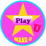 mane-u badge gold star 10 play