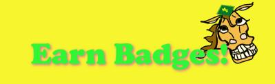 Earn badges! ManeU