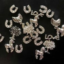 Silver Charms for Memory Lockets