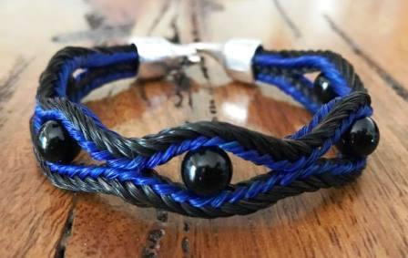 Coloured wave Bracelet