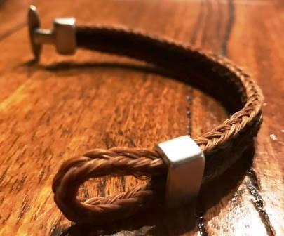 Toggle Herringbone Bracelet