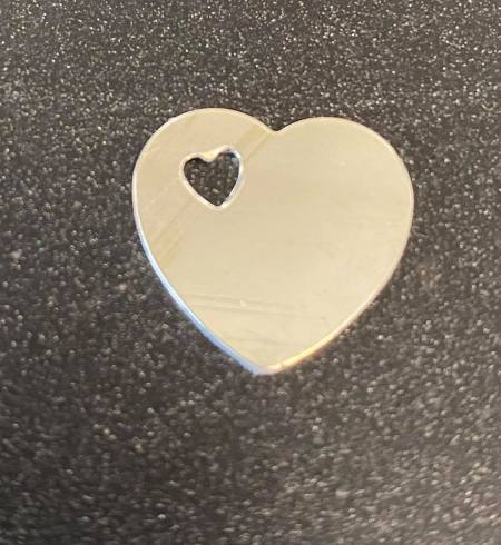 Small Heart Sterling Silver