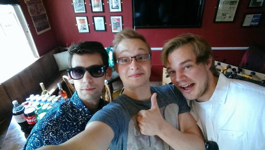 Backstage with Joe and Jamie