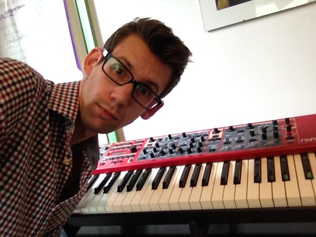 About to record keyboards