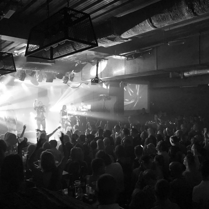 Sold-out crowd at The River Rooms (Photo: The River Rooms)