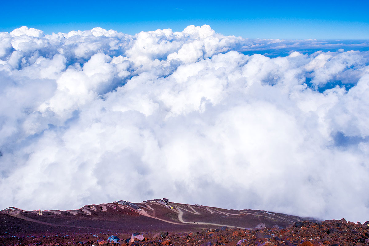 grimper le mont fuji