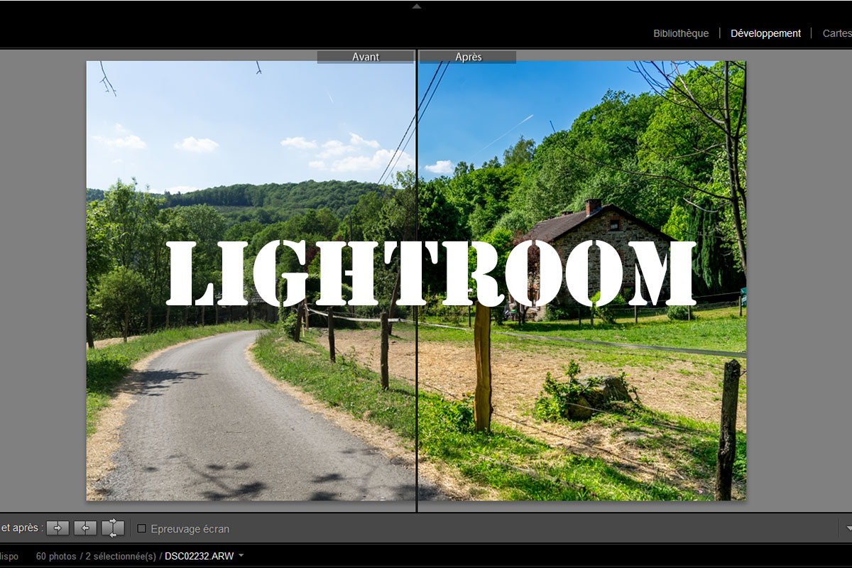 Lightroom - photos de voyage