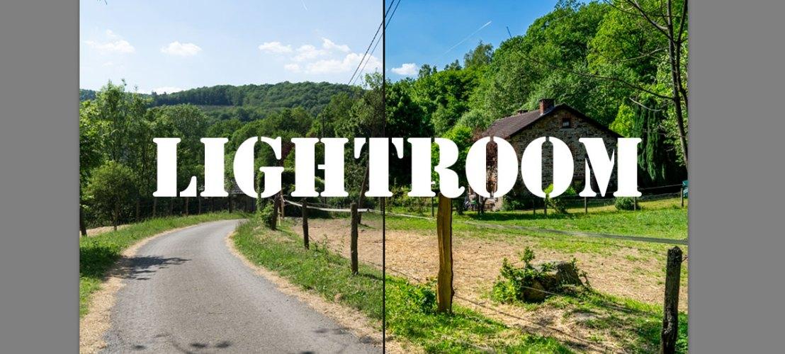 Lightroom - photos de voyage
