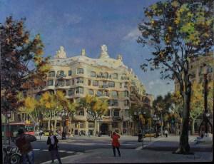 Gaudi's Pedrera. Barcelona