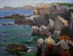 Costa del Cabo de Cavalleria. Menorca