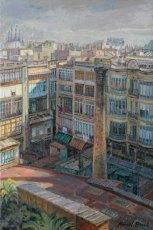 Galerías y patios del Eixample. Barcelona