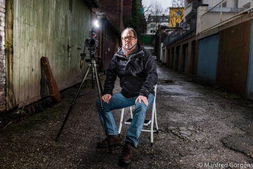 Polizeifotograf und Musiker Jürgen Bringenberg