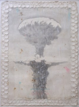Untitled, 2002-2003, pencil, gesso, ink and coffee on paper, cm 87.5x123