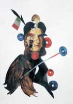 Untitled, 2007, collage on paper, cm 29x41