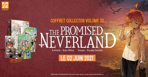 Un coffret collector pour le dernier tome de The Promised Neverland, 11 Mai 2021 - Manga news
