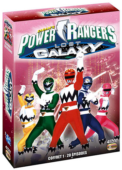 Power Rangers Lost Galaxy 1999