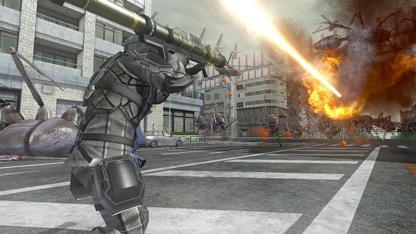 Personnage Ranger Silver du jeu vidéo Earth Defense