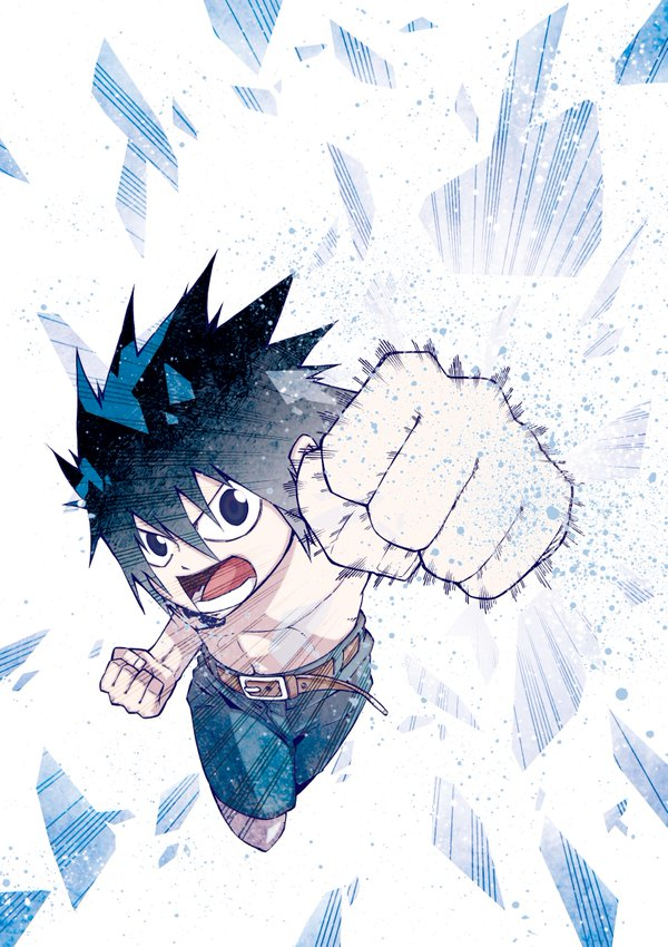 Fairy tail Ice trail visual 1
