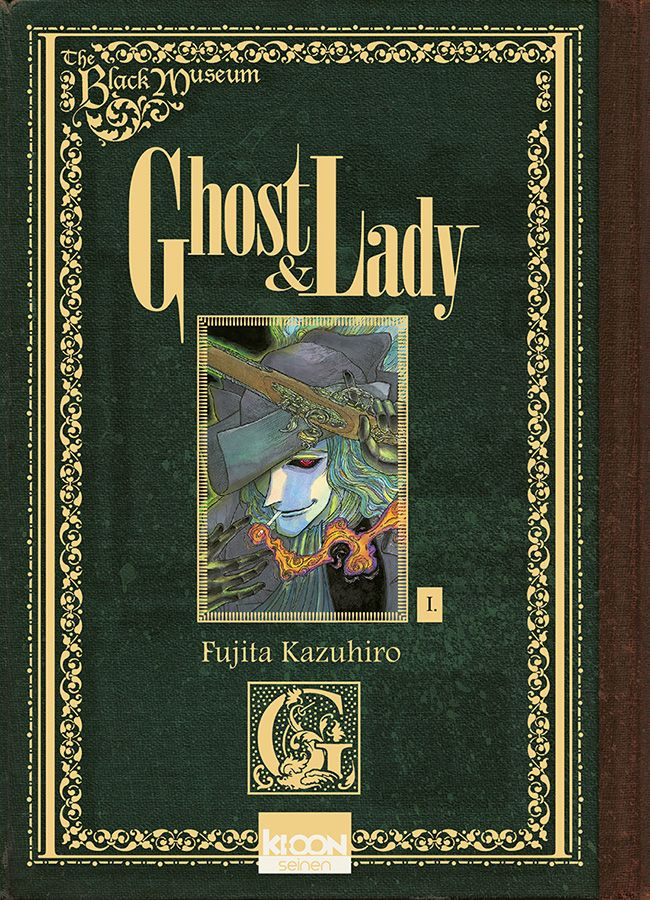 Manga - Ghost & Lady