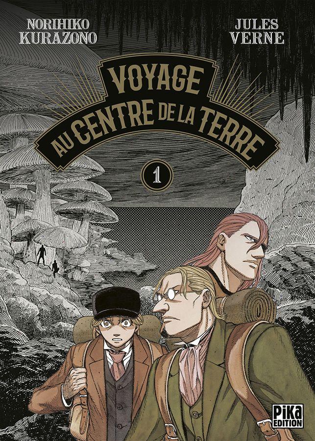 Manga - Voyage au Centre de la Terre