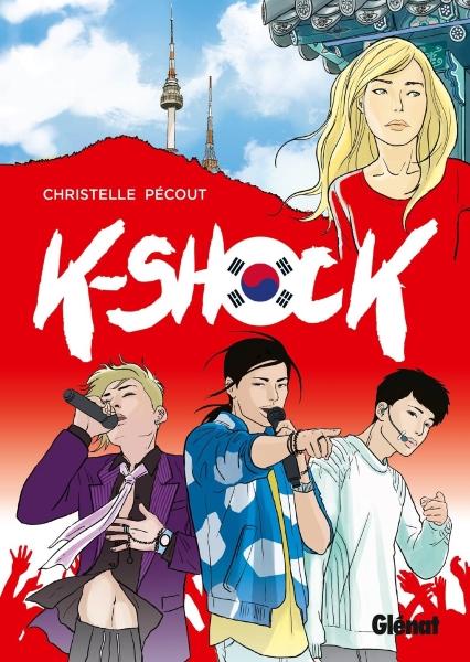 couverture manga kshock christelle pécout
