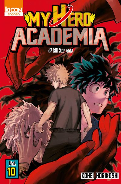 Manga - Manhwa - My Hero Academia Vol.10