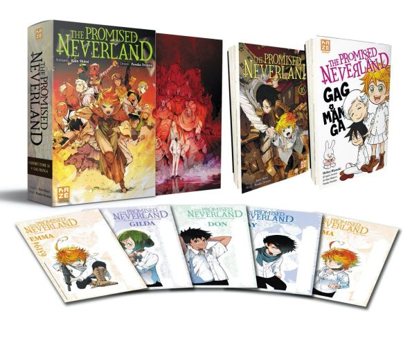 The Promised Neverland - Coffret T16 + Gag Manga - Manga - Manga news